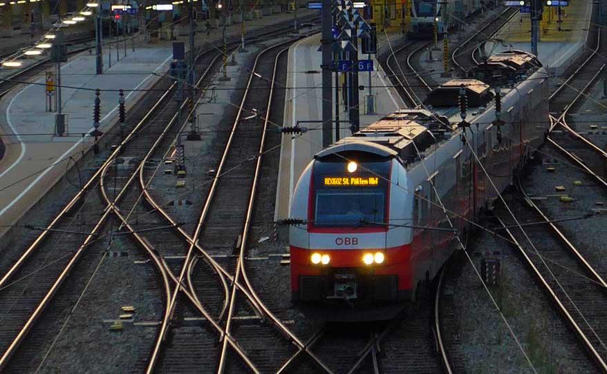 Railroad Sunrise
