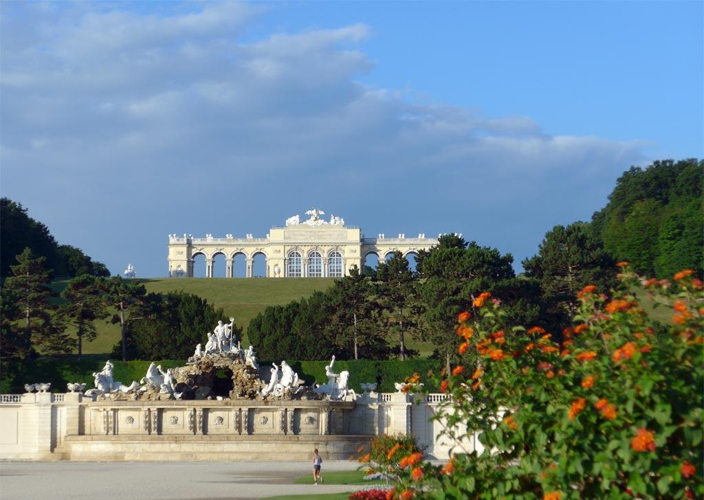 Foto Schloss Schönbrunn, Wien 2017